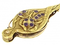 Antique Art Nouveau Amethyst Lorgnette in 18K