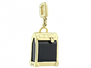Louis Vuitton Steamer Charm in 18K