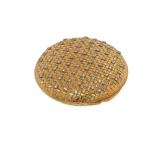 Tiffany & Co. Diamond Compact in 18K