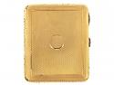 Art Deco Sapphire and Diamond Cigarette Case in 18K
