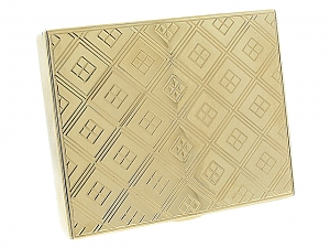 Cartier Mid-Century Gold Compact Box in 14K