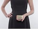 Flato Envelope Compact Box in 14K
