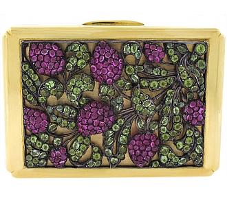 Repossi Pink Sapphire and Peridot Box in 18K