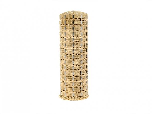 Tiffany & Co. Schlumberger Gold Lipstick Case in 18K