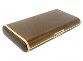 Faraone Enamel Cigarette Box in 18K