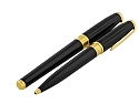 Set of Two S.T. Dupont Fountain Pen and Mechanical Pencil