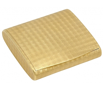 Cartier Gold Powder Case in 18K Gold
