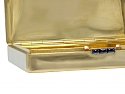 Cartier Art Deco Gold Box with Sapphires in 18K Gold