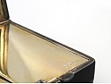 Cartier Art Deco Gold and Enamel Powder Compact Box in 18K Gold