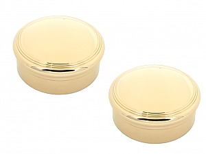 Pair of Tiffany & Co. Art Deco Pill Boxes in 18K Gold