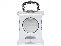 Buccellati Limited Edition Crystal and Silver Desk Clock