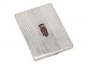 Gemstone Set Box in Silver