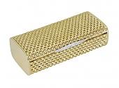 Gold Vanity Case with Diamonds in 18K Gold