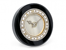 Cartier Art Deco Onyx Desk Clock with Diamonds