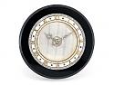 Cartier Art Deco Onyx Desk Clock with Diamonds