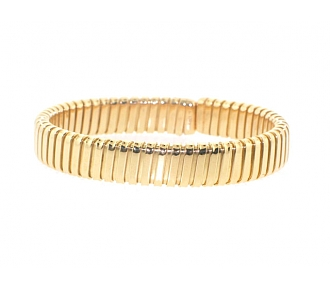 Carlo Weingrill Tubogas Cuff Bracelet in 18K