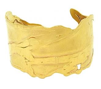 Jean Mahie Gold Cuff in 22K
