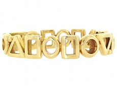 Chanel Bangle Bracelet in 18K