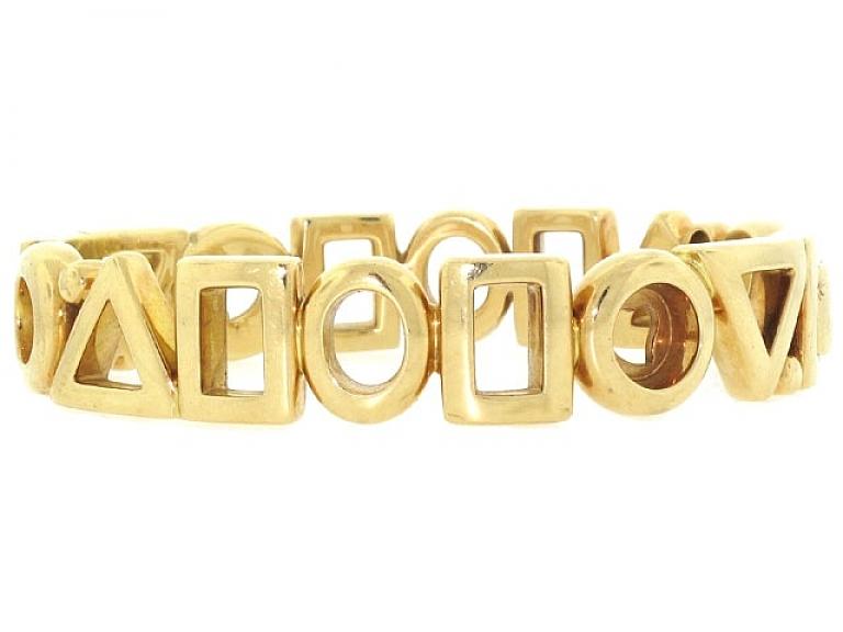 Video of Chanel Bangle Bracelet in 18K