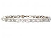 Doris Panos Diamond Bangle Bracelet in 18K