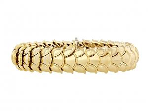 Asprey Gold Snake Bracelet in 18K
