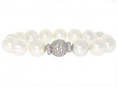 Bulgari South Sea Pearl and Diamond Bracelet in 18K