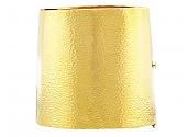 Wide Gold Cuff Bracelet in 18k