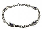 Pepe Creations Sapphire Bracelet in 18K