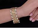 Boucheron Emerald, Sapphire and Ruby Bracelet in 18K