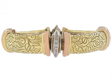 SeidenGang Diamond Bracelet in 18K