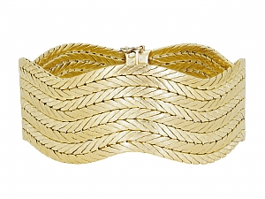 M. Buccellati Gold Bracelet in 18K