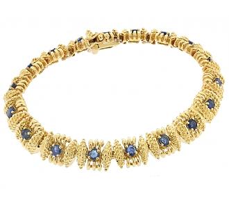 Tiffany & Co. Sapphire Bracelet in 18K