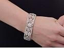 Edwardian Diamond Bracelet in Platinum