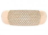 Mattia Cielo Diamond Bangle Bracelet in 18K
