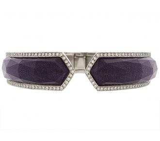 Stephen Webster 'Crystal Haze' Bangle Bracelet in 18K