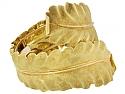 Buccellati Leaf Bangle Bracelet in 18K Gold
