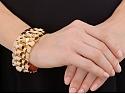 Retro Gold Bracelet in 18K Rose Gold