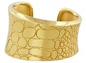 Pomellato 'Cocco' Cuff Bangle in 18K Gold