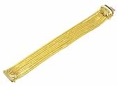 Spaghetti Link Bracelet 18K Gold