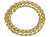C'est Laudier 18K Gold Chain Bracelet