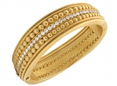 Vahe Naltchayan Diamond Bangle in 18K Gold