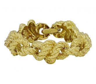 Tiffany & Co. Knot Bracelet in 18K Gold