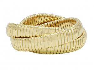 Rolling Bracelet in 18K Yellow Gold, 12mm, by Beladora