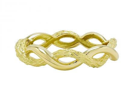 Tiffany & Co. Retro Bangle Bracelet in 18K Gold