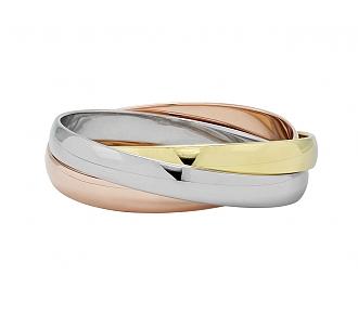 Cartier 'Trinity de Cartier' Bangle Bracelet, Large Model