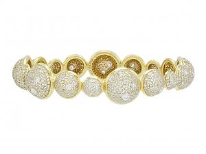 Ippolita 'Stardust' Diamond Bangle Bracelet in 18K Gold