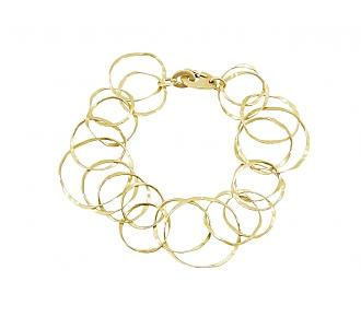 Link Bracelet in 18K Gold