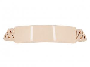 ID Bracelet in 16K Rose Gold