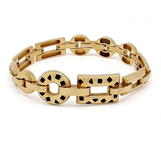 Cartier Panthère 'Pelage' Bracelet in 18K Gold