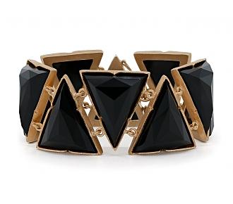 Irene Neuwirth Rose-cut Onyx Bracelet in 18K Rose Gold
